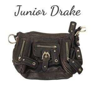 Junior Drake Brown Small Handbag